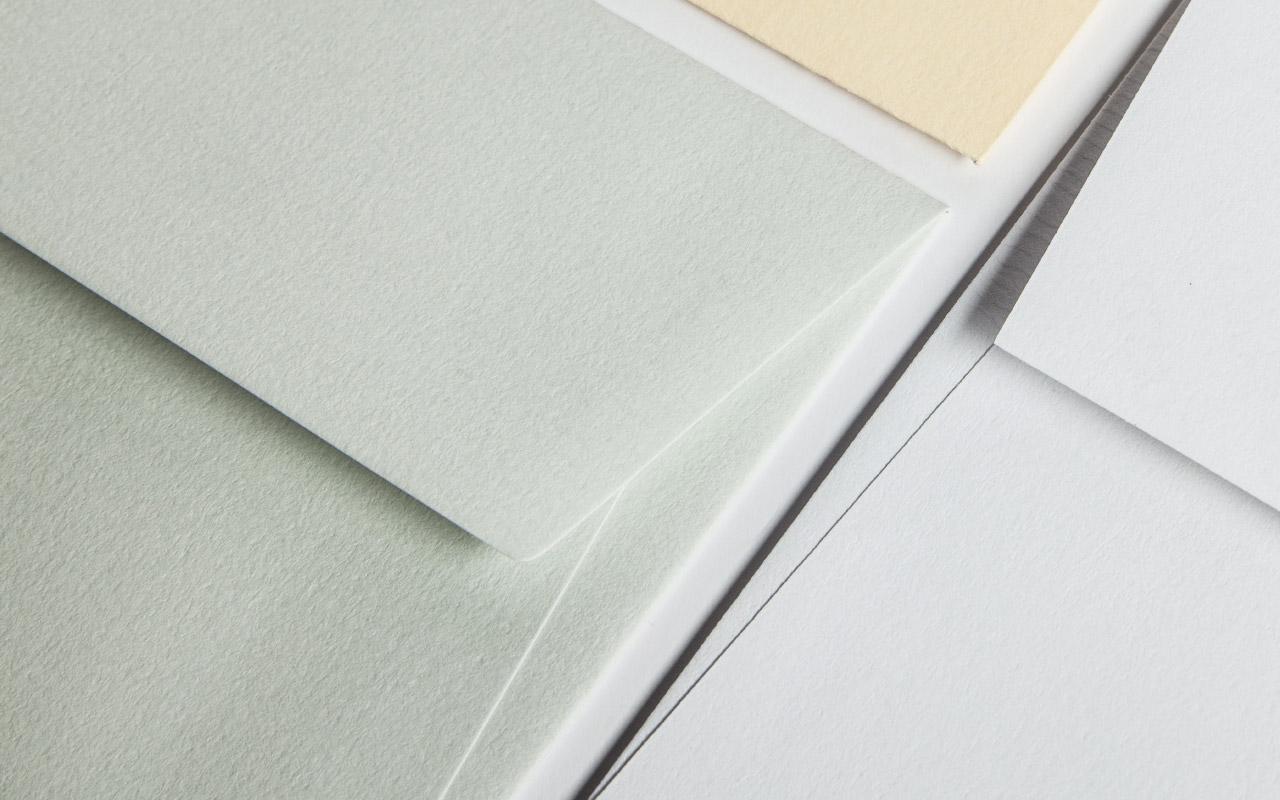 Briefumschlag Oberflächen