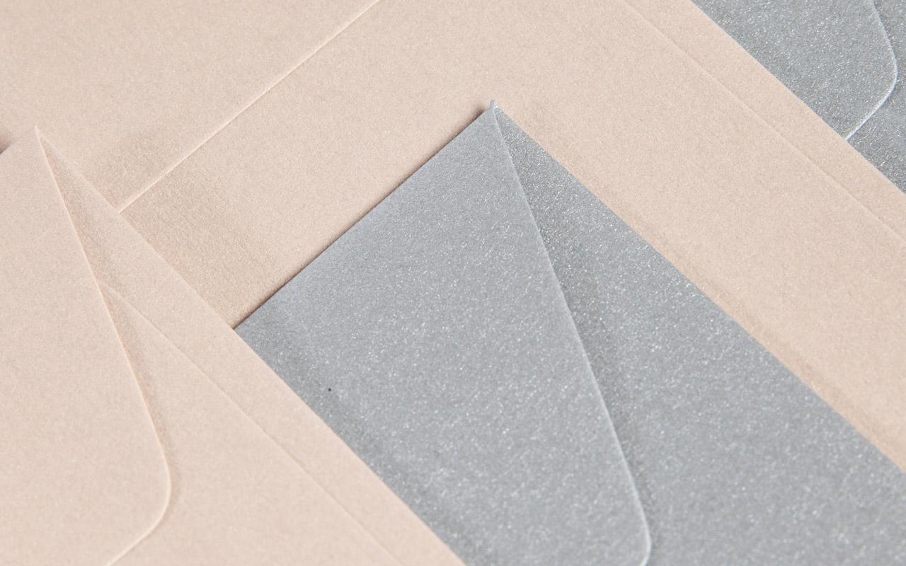 metallic Briefumschläge