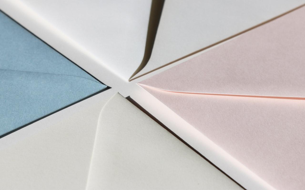 Briefumschlag Farben