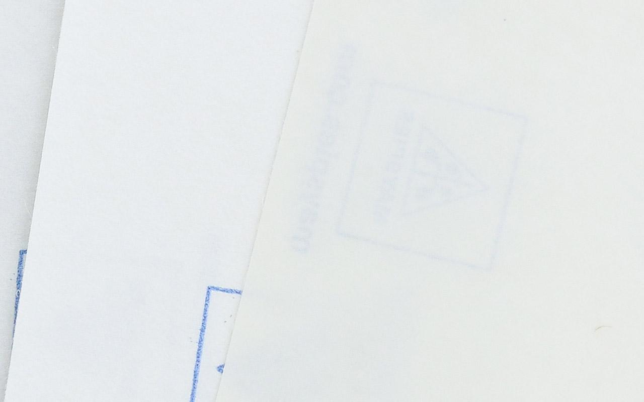 transparente Etiketten / Haftpapier