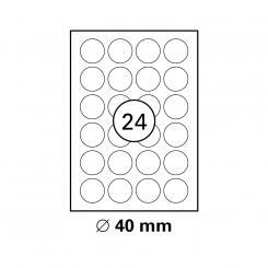 MAYSPIES® Premium Color Laser Gloss Etiketten