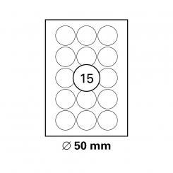 MAYSPIES® Premium Color Laser PET Etiketten, Polyester wetterfest