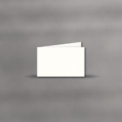 Trauerkarten, querdoppelt, Blanco