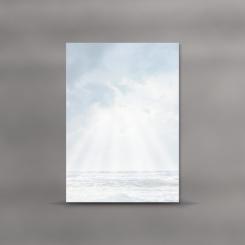 Trauerblätter, einzeln, Meer