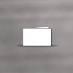 Trauerkarten, querdoppelt, 2 mm gerändert
