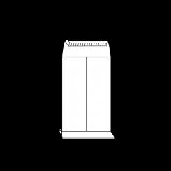 Faltentaschen mit Seitenfalte (Konsumqualität)